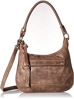 43290e2012 FRYE Melissa Zip Small Leather Hobo Crossbody