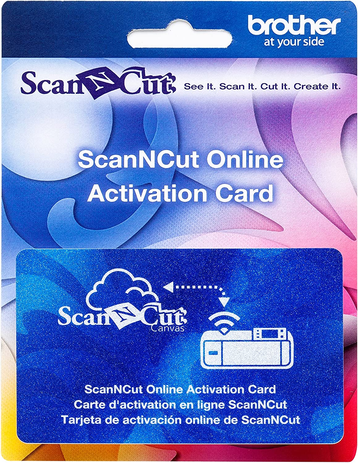 Brother ScanNCut Online Activation Card, CAWLCARD1