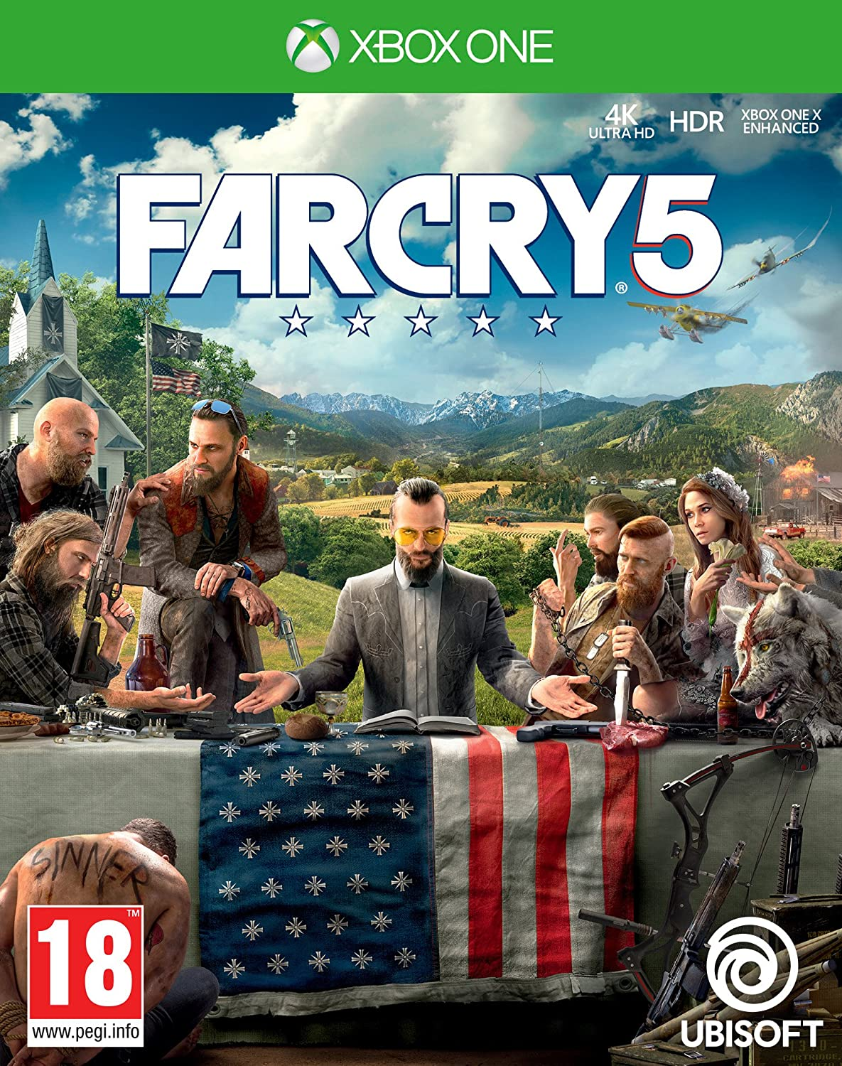 Far Cry 5 - Xbox One [Importación inglesa]: Amazon.es: Videojuegos