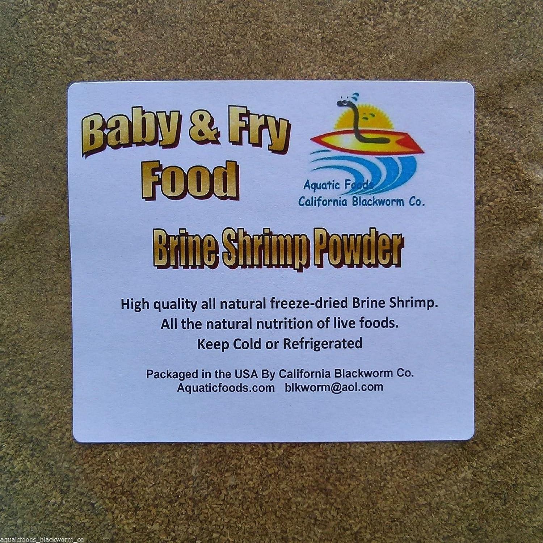 AFB Brine Shrimp Powder Fry & Baby Food - Aquatic Foods Baby & Fry Foods