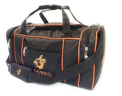 ff715531764bb Sporttasche für Damen und Herren – Mit Seitenfächern und Tragegurt für  Fitness