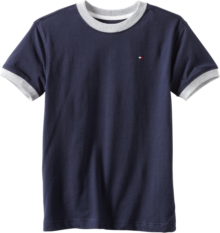 Tommy Hilfiger Boys Core Crew-Neck Ken T-Shirt