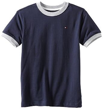 Amazon.com: Tommy Hilfiger Boys' Core Crew-Neck Ken T-Shirt ...