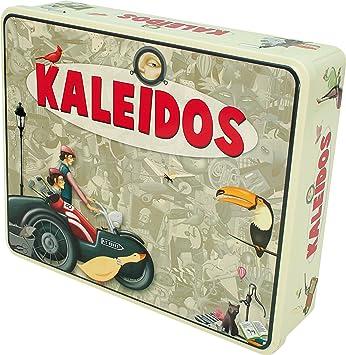 Asmodée Ystari Kaleidos - Juego de Mesa para desarrollar agudeza Visual (de 2 a 12 Jugadores, Importado de Alemania): Amazon.es: Juguetes y juegos