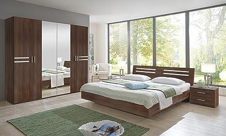 Susan - Set di mobili per camera da letto, con letto matrimoniale ...