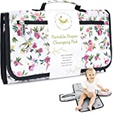 Portable Diaper Changing Pad by First Landings | Convenient, On The Go Baby Change Mat with Head Cushion | Changing…