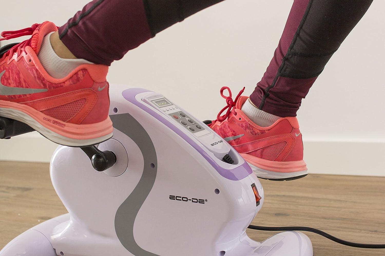 ECO-DE Pedalina Mini Bike eléctrica 100% pasiva para pies y Manos, Mini Bici ECO-800: Amazon.es: Deportes y aire libre