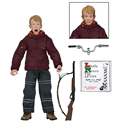 "NECA Home Alone - Clothed 8"" Action Figure - Kevin: Toys & Games"