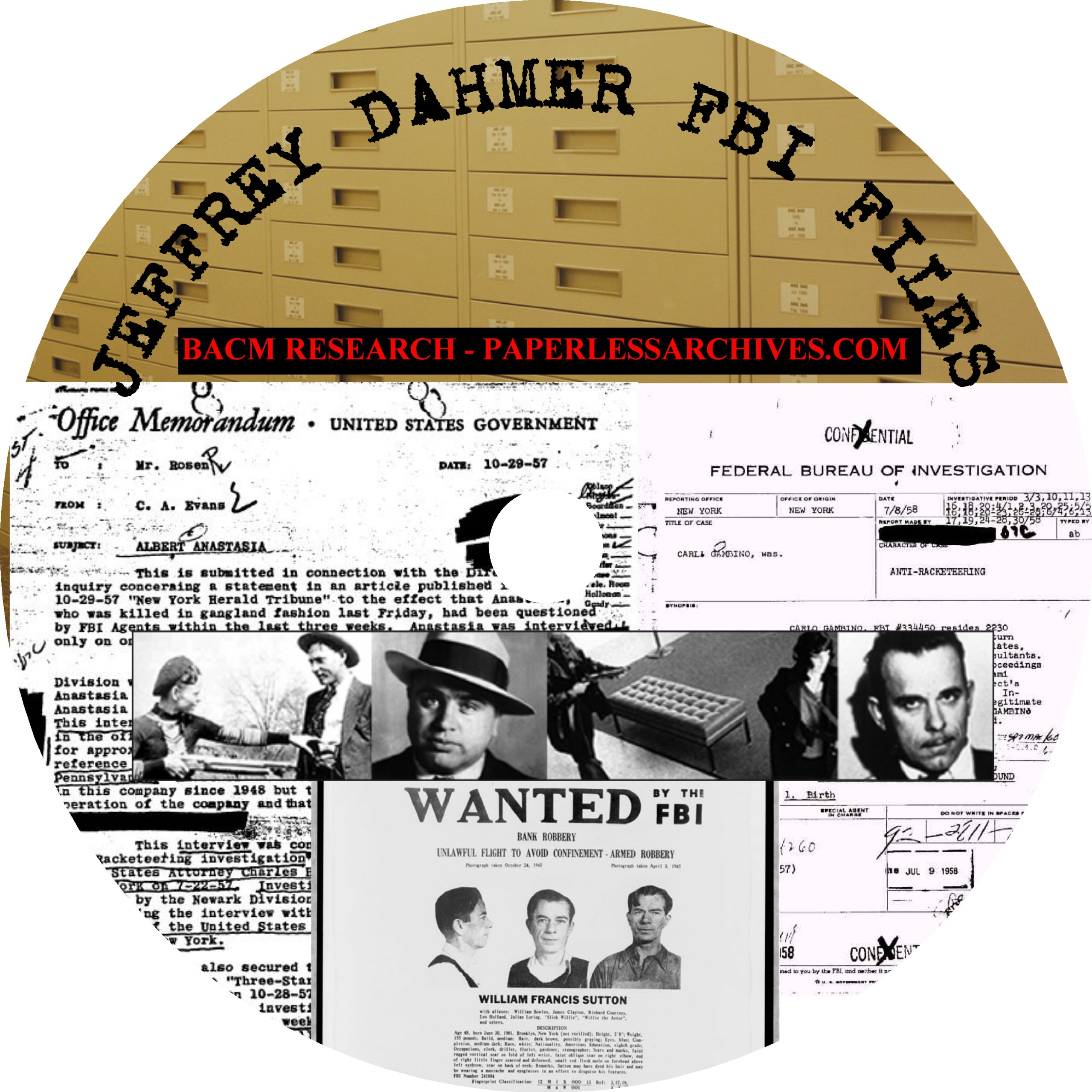 Jeffrey Dahmer Fbi Files Bacm Research Amazon Com Books