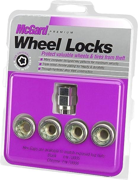Amazon.com: McGard 24019 Cone Seat - Under Hub Cap Wheel Locks (M14 x 1.5 Thread Size) - Set of 4: Automotive