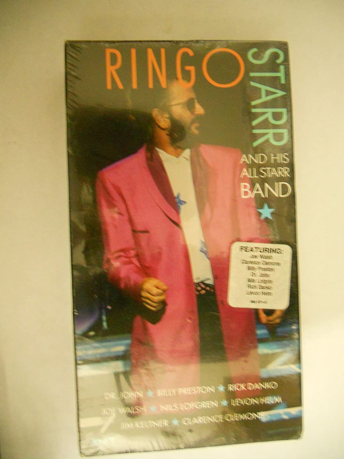 Ringo Starr and his All Starr Band [VHS]