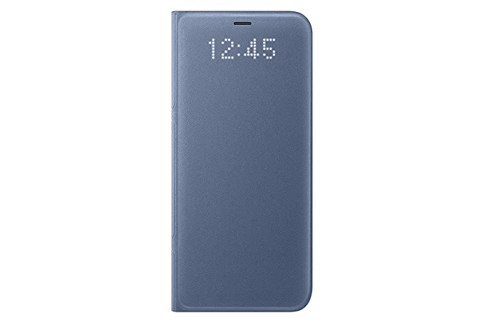 buy online 77607 f5fd1 Samsung Galaxy S8 LED View Wallet Case, Blue