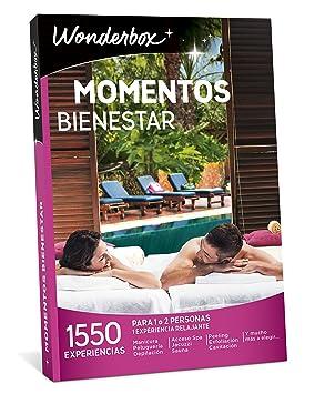 WONDERBOX Caja Regalo Momentos Bienestar 1.550 experiencias para Dos Personas