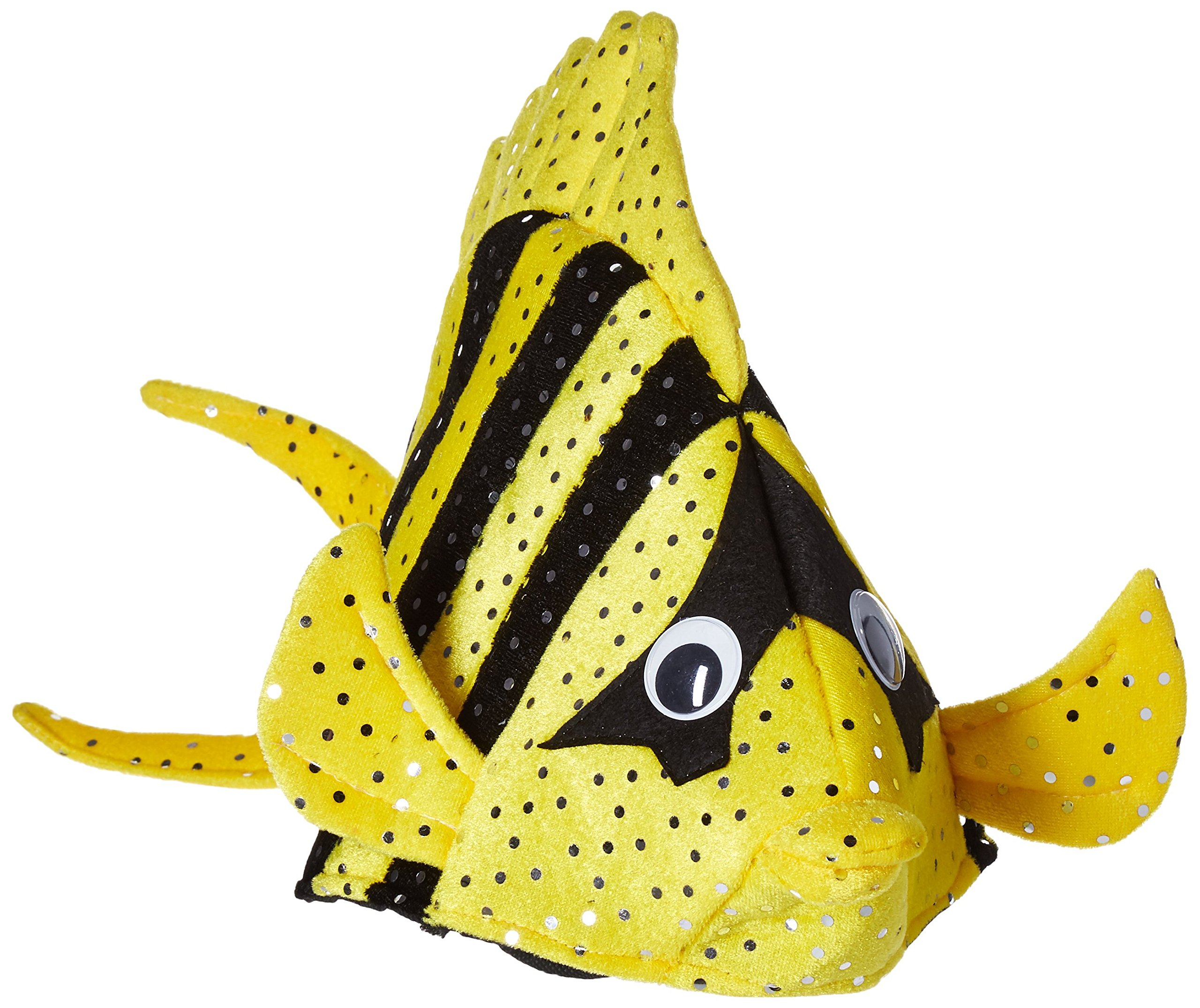 Luau Fish Hats (asstd colors) Party Accessory  (1 count) (1/Pkg)