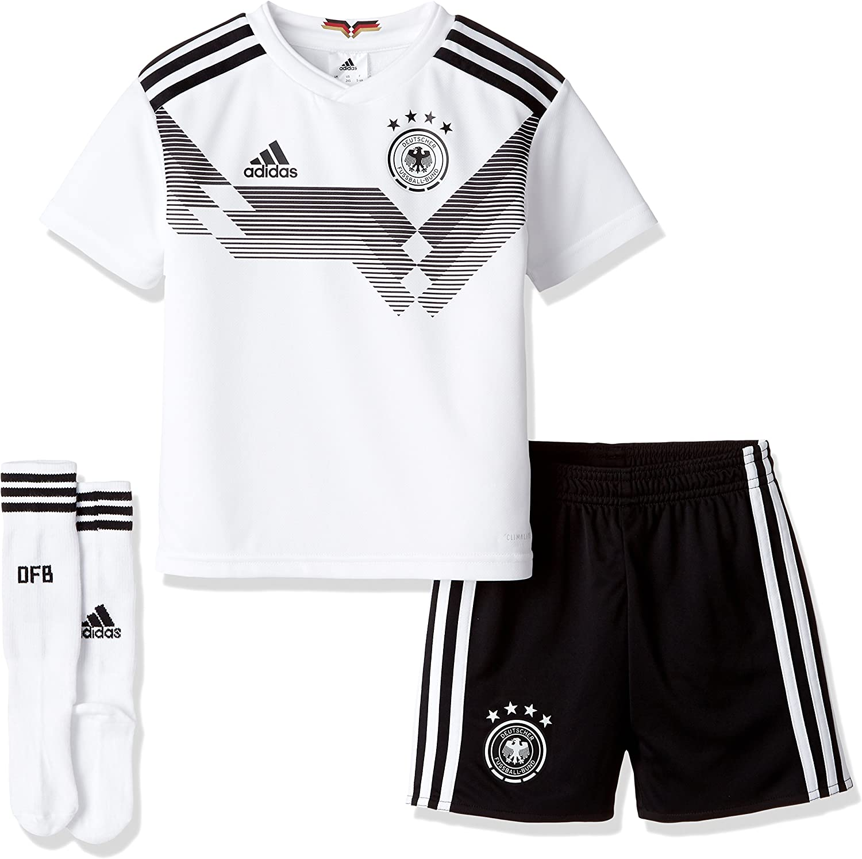 adidas Kids Unisex Soccer Germany Home Mini Kit