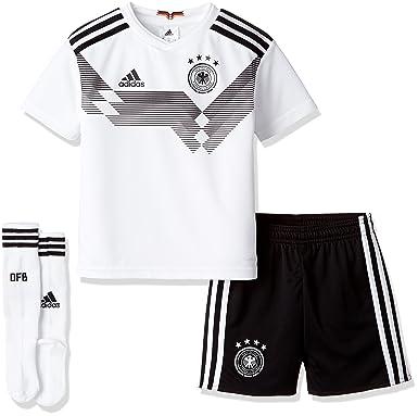 99503793264 Amazon.com  adidas Kids Unisex Soccer Germany Home Mini Kit  Clothing