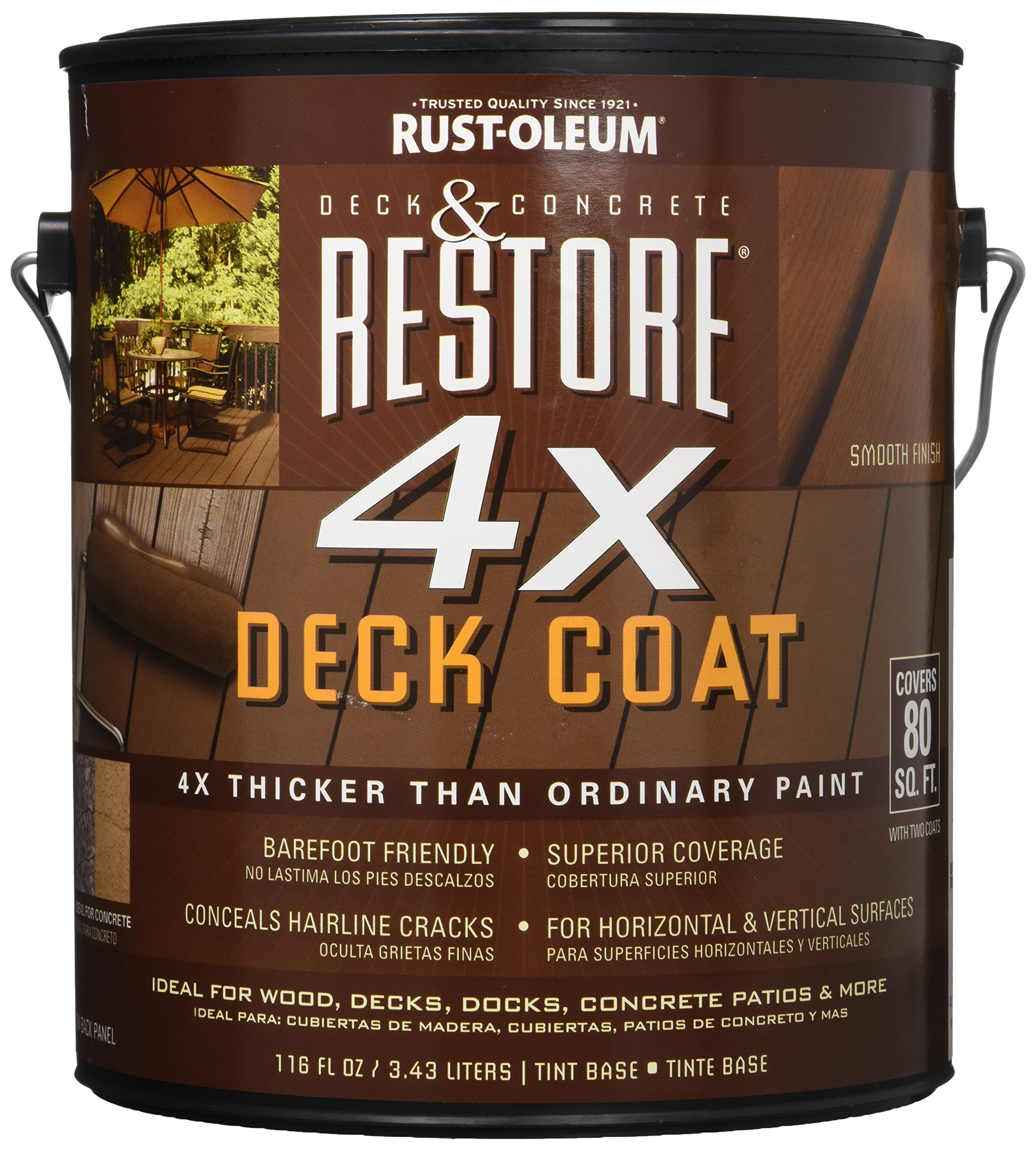 RUST-OLEUM 41100  Surface Coat Tint Base-Gallon