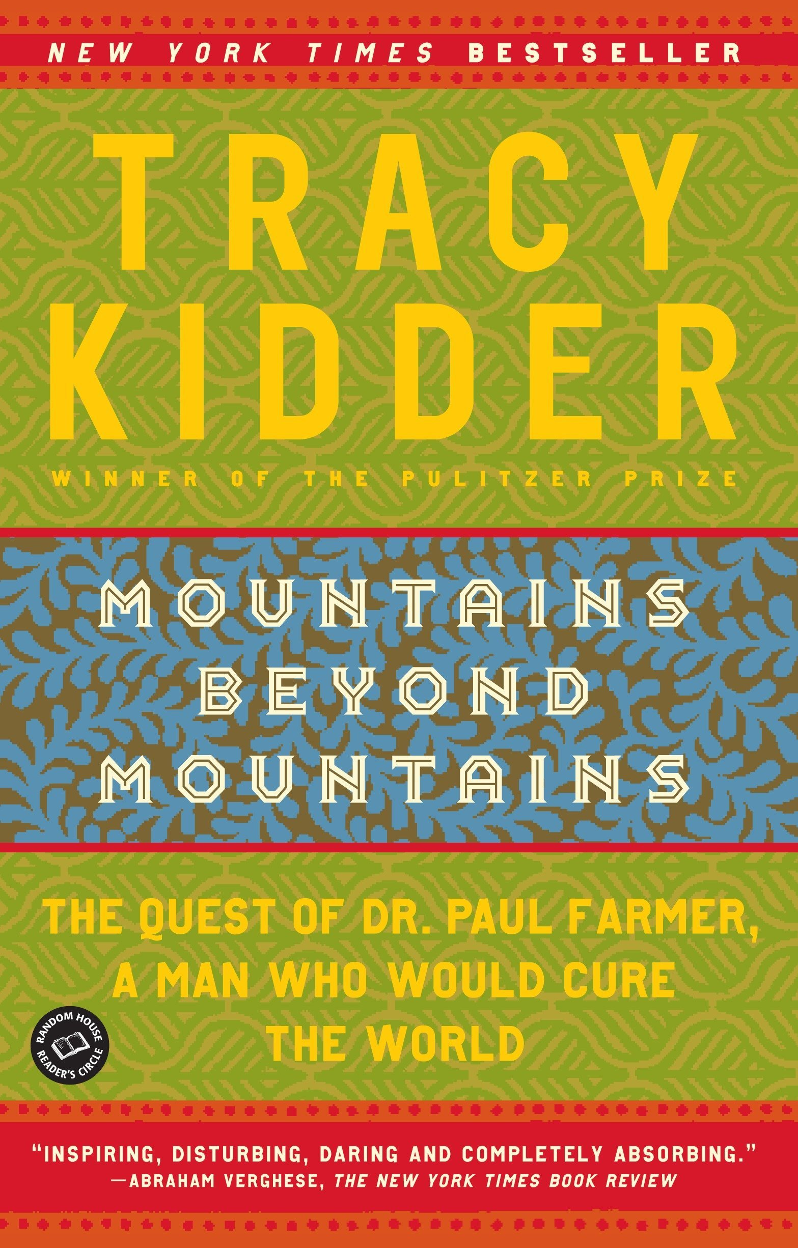 Image result for mountains beyond mountains by tracy kidder