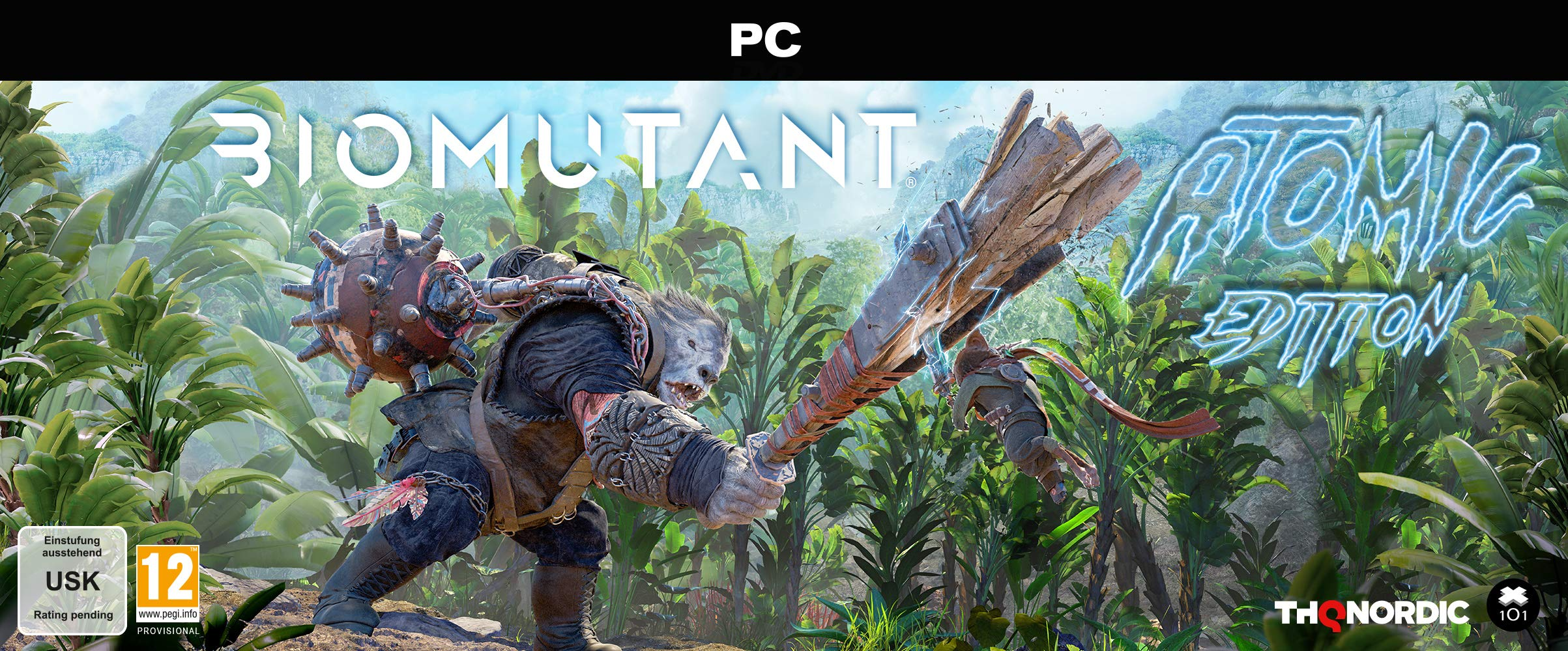Biomutant Atomic Edition - PC by THQ Nordic