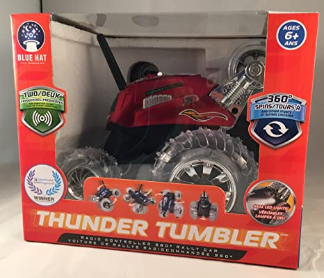 Amazon Red Thunder Tumbler Remote Controlled Car Toys Games