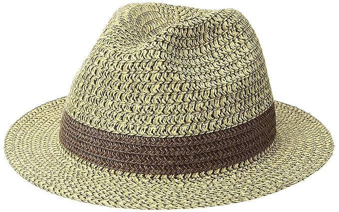 Country Gentleman Men s Mason Braided Fedora Hat  Amazon.in ... 446c32acb9c