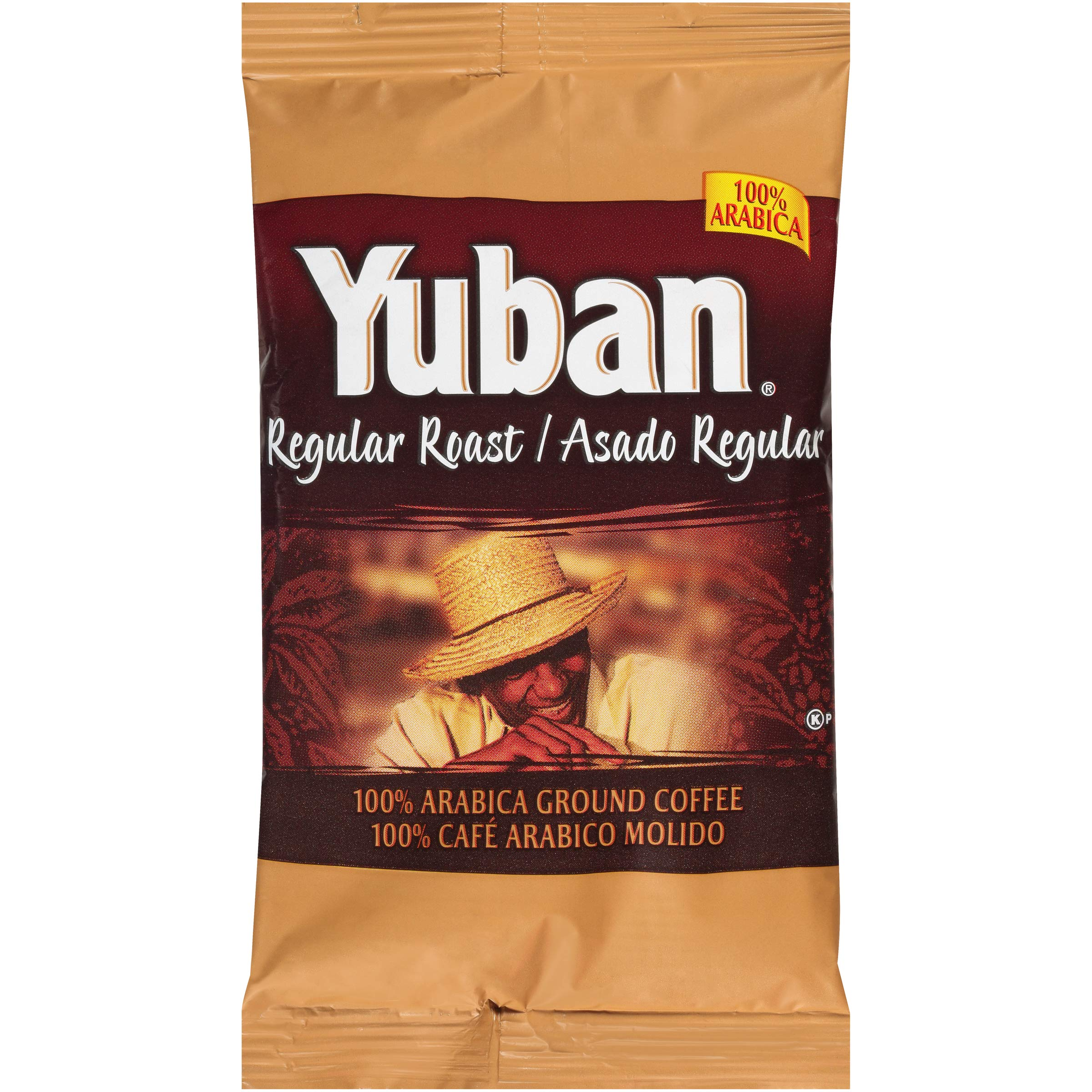 Yuban Regular Ground Coffee (2oz Bags, Pack of 192) by Yuban (Image #1)