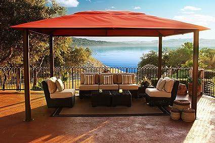 Image Unavailable - Amazon.com : Paragon-Outdoor Valencia Gazebo, 11' X 15' Sunbrella