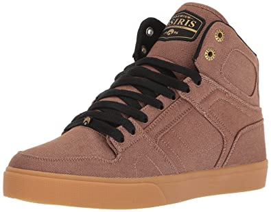 Osiris Men's Nyc 83 Vlc Dcn Skate Shoe, Brown/Gum, ...