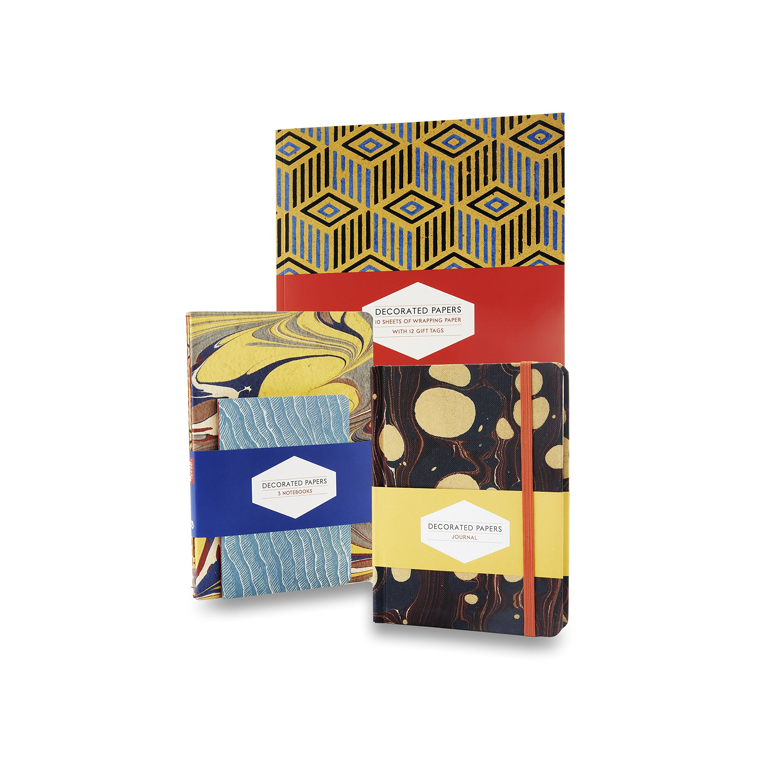 Decorated Papers: Gift Wrapping Paper Book: 10 Sheets of ...