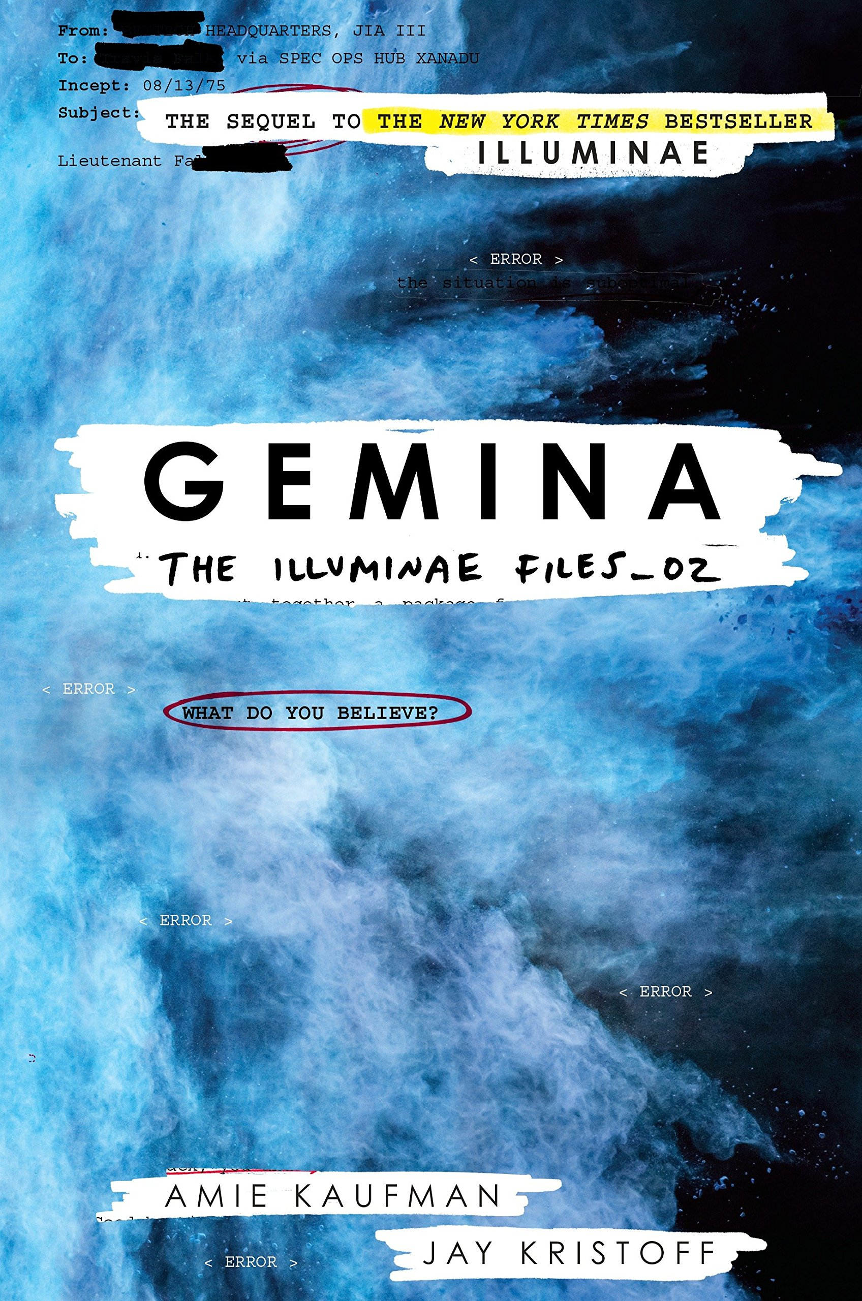 Image result for gemina cover