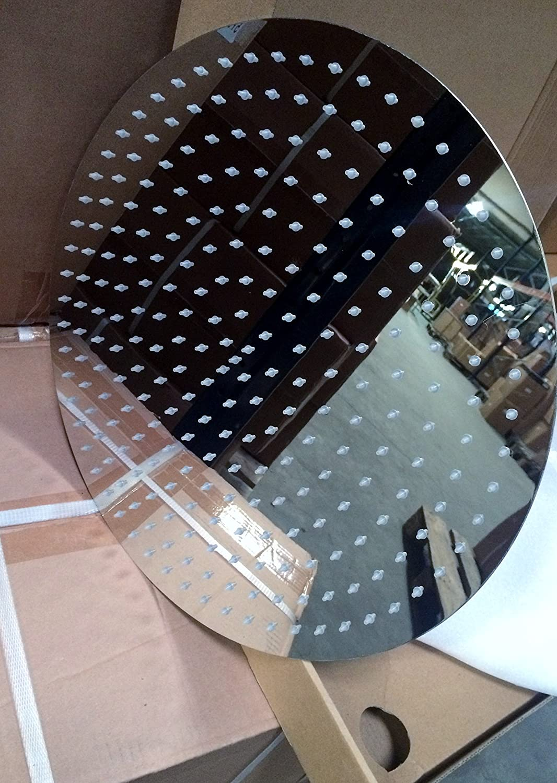 RIESEN DUSCHKOPF 40CM RUND MIT 253 D/ÜSEN Edelstahl Finish-poliert Regendusche Regenbrause Brausekopf Duschkopf Ultra Flach.