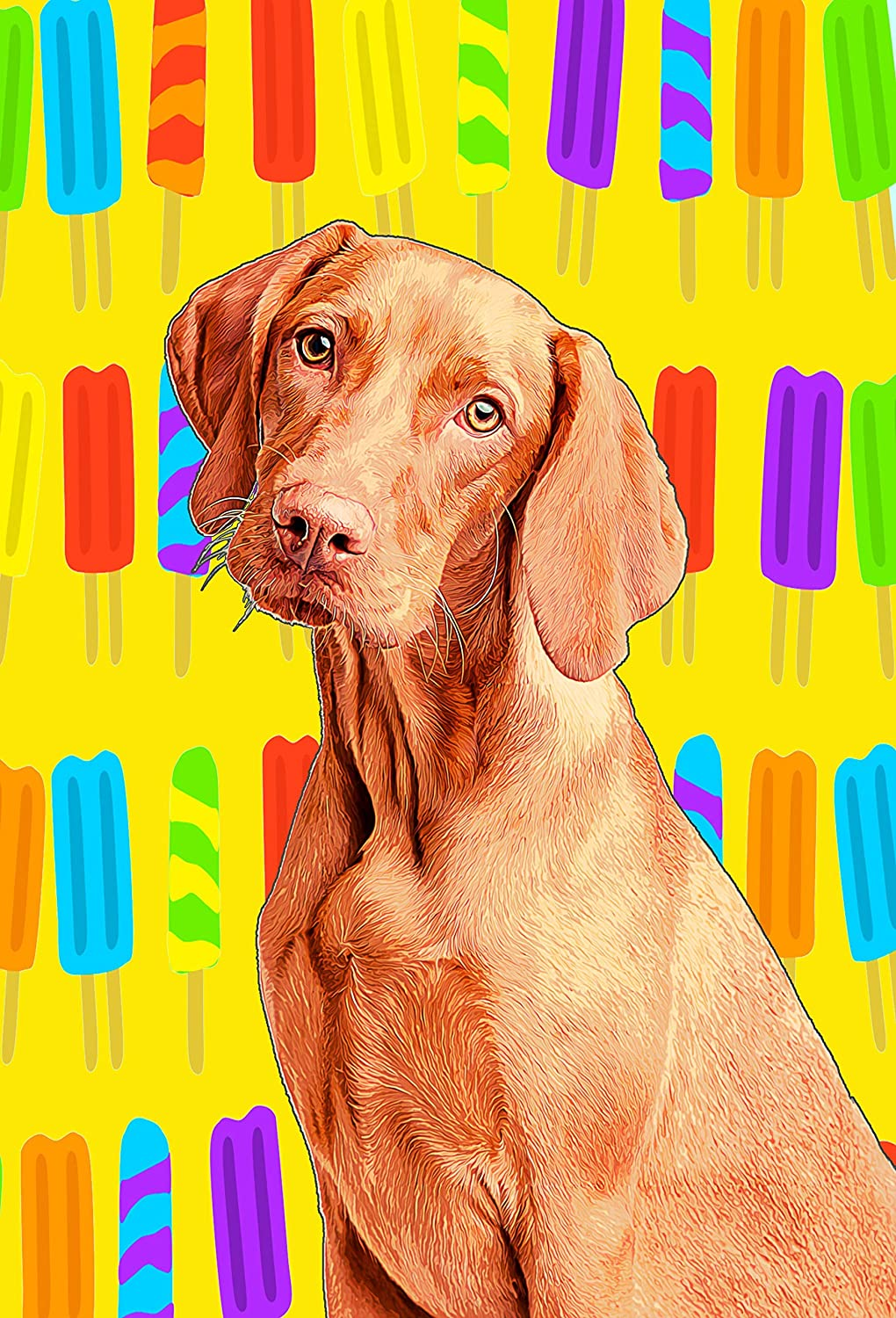 936aebba828b Dog Mom Gifts Customized Pet Portrait - Custom Pet Portrait for Dog Dad -  Wrapped Canvas Pop Art Print of YOUR Fur Baby - Dog Paintings Office Decor  Wall ...