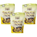 (3 Pack) Exclusively Pet Harvest Blends Peanut Butter N Banana Flavored Treats, 7-Ounce Pouches