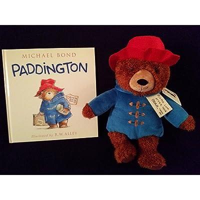 kohl's paddington bear plush and book bundle: Toys & Games