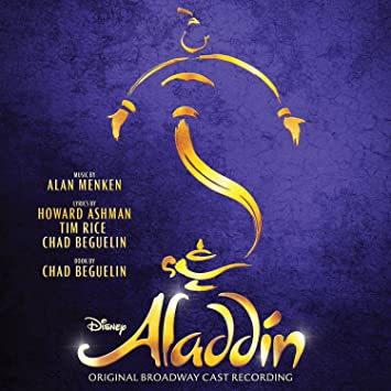 Image result for aladdin broadway album