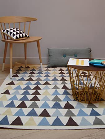 Art for Kids Teppiche: Kinderzimmer Kinderteppich Triangles ...