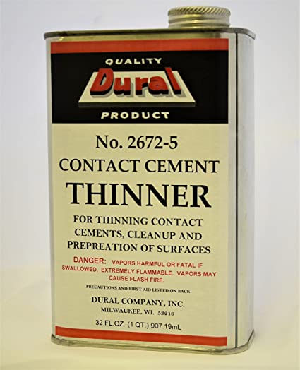 Amazon com: Dural No  2672-5 Contact Cement Thinner - 1