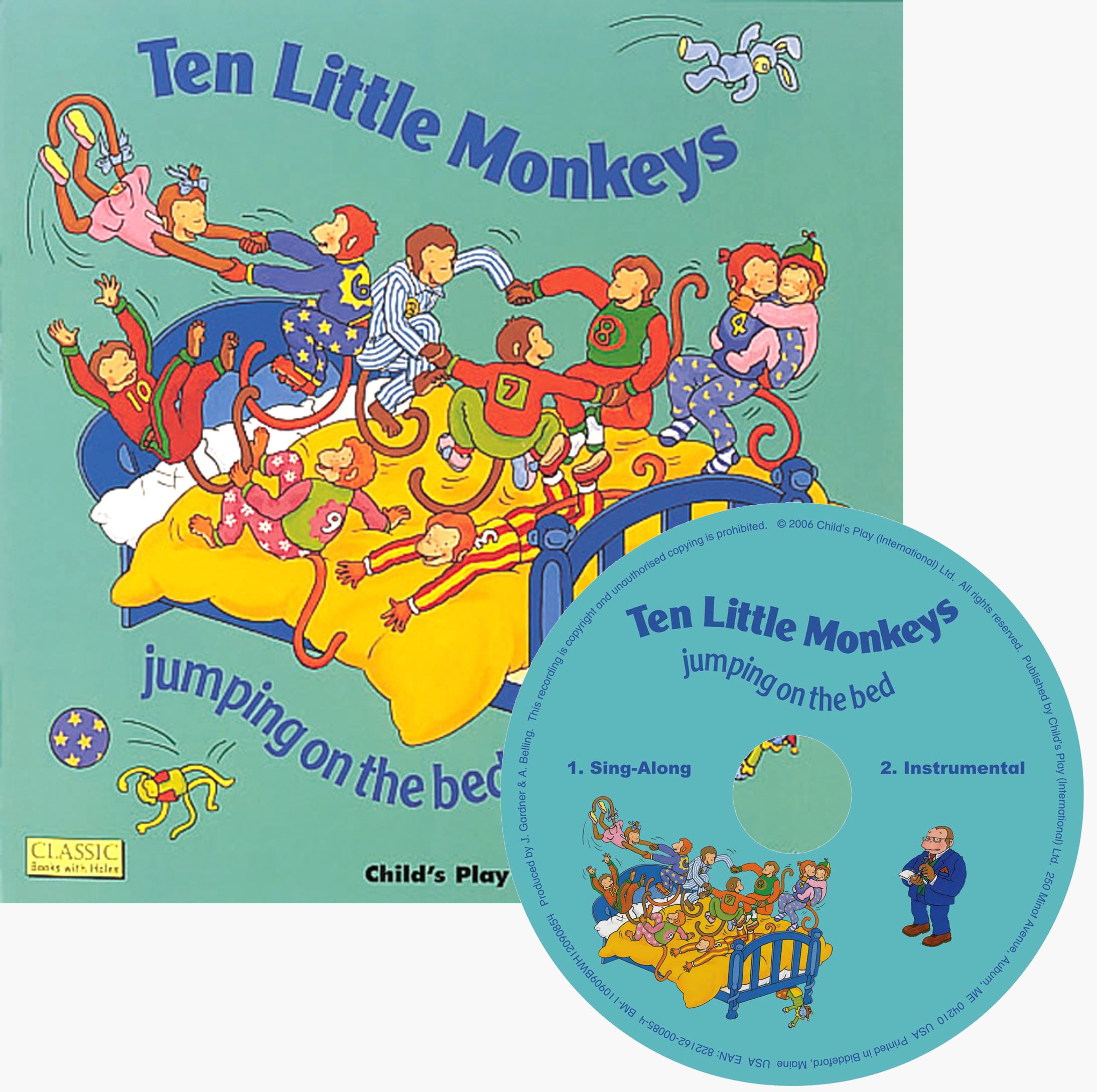Download Ten Little Monkeys: Jumping on the Bed (Classic Books With Holes) pdf epub