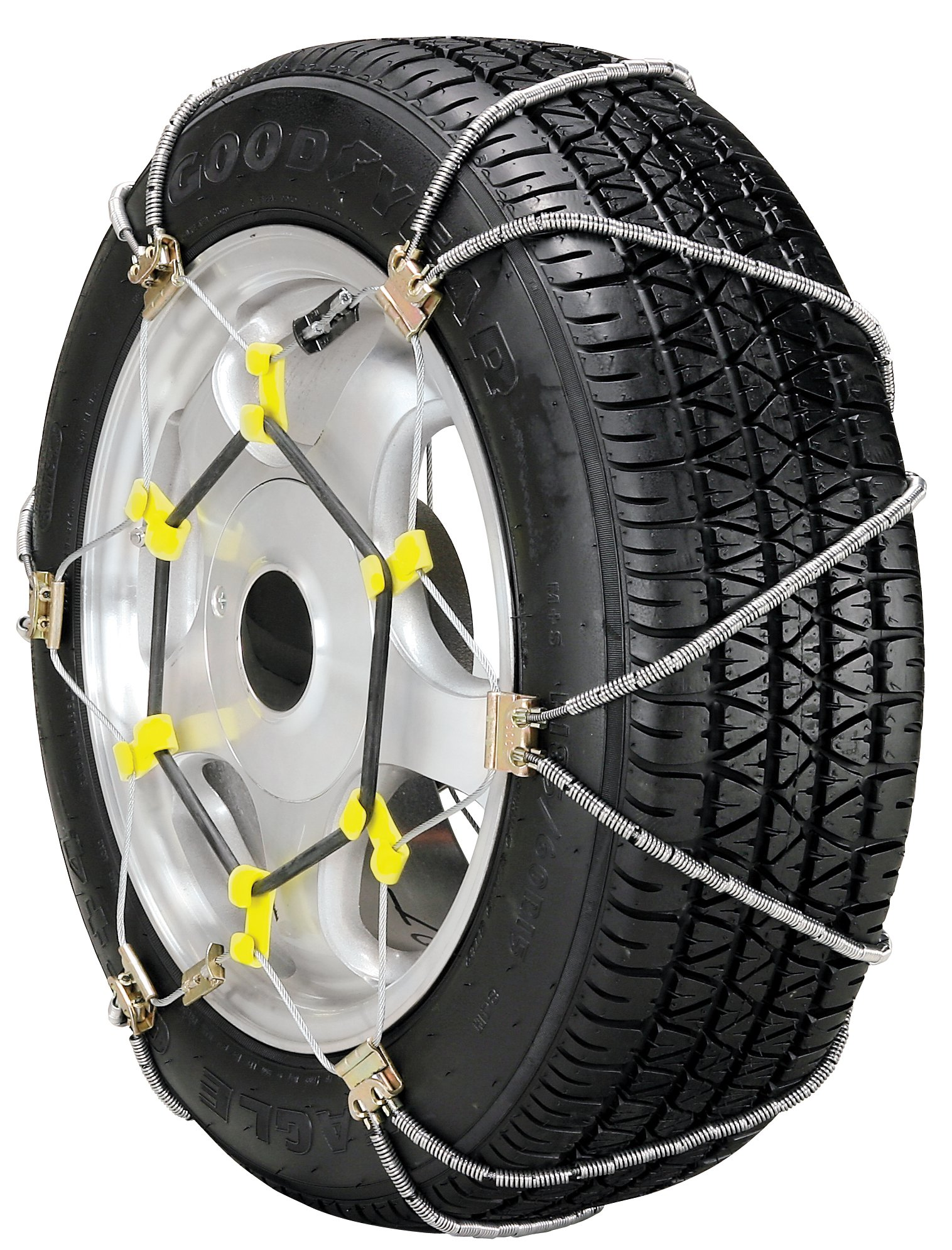Security Chain Company SZ497 Super Z8 8mm Commercial and Light Truck Tire Traction Chain - Set of 2