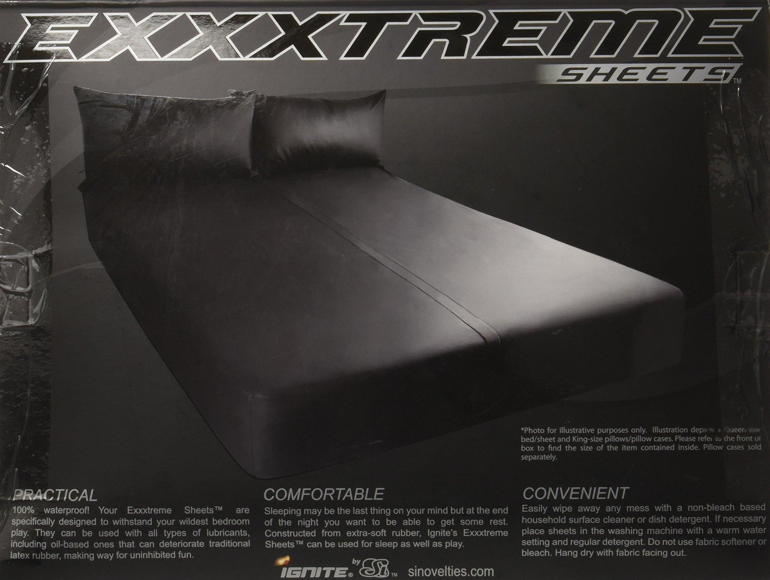 Si Novelties Exxxtreme Sheets California King Size