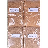 Räucherspäne Buche, Erle, Hickory, Kirsche, Körnung Typ 7, Spangröße ca.1-3mm, Feinschmeckerpaket