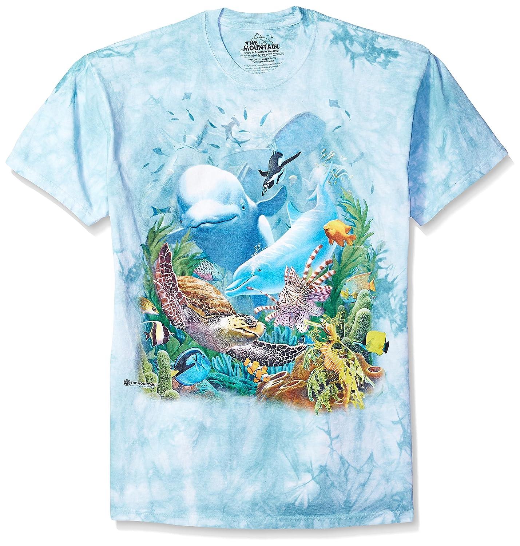 Amazon The Mountain Seavillians Adult T Shirt Teal 5xl Clothing