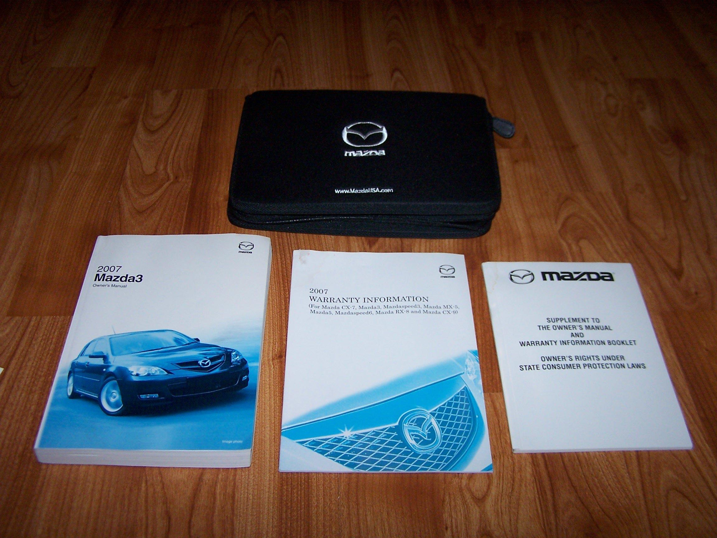 Mazda mazda3 owner manuals [2004-2019] | ownermanual.