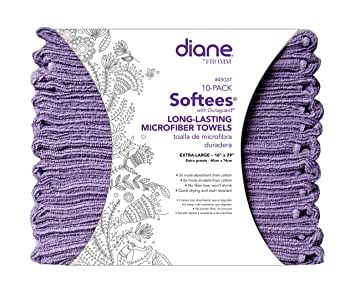 Amazon.com: Softees Towels with Duraguard, Lilac, 10pk by Fromm International: Beauty