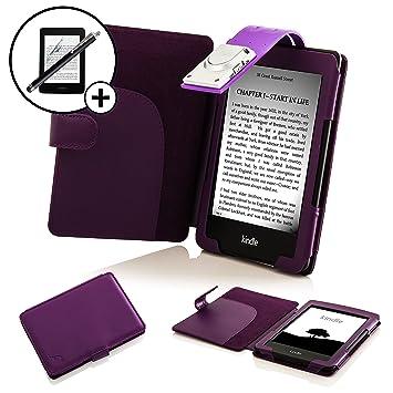Étui Led 8ème Coque Lampe Cases Housse Kindle Reader Détachable Case Rembourré Forefront Cover Génération Avec Extra 2016 Lecture E Modèle Ajqc3L54R
