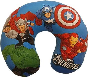Amazon.com: Cojín de viaje de felpa de Marvel Avengers ...