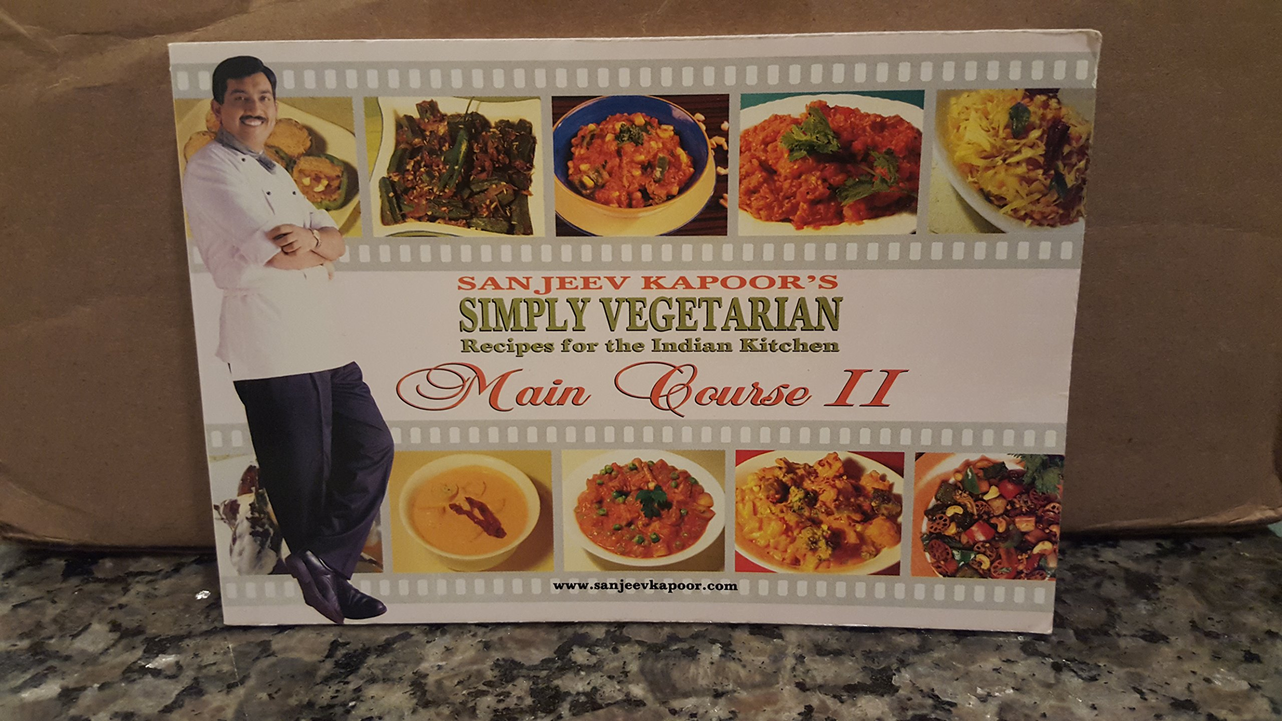 Sanjeev kapoors simply vegetarian recipes for the indian kitchen sanjeev kapoors simply vegetarian recipes for the indian kitchen main course ii sanjeev kapoor 9788179911389 amazon books forumfinder Gallery