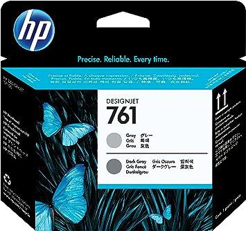 HP Cabezal de impresión DesignJet 761 Gris/Gris Oscuro - Cabezal ...