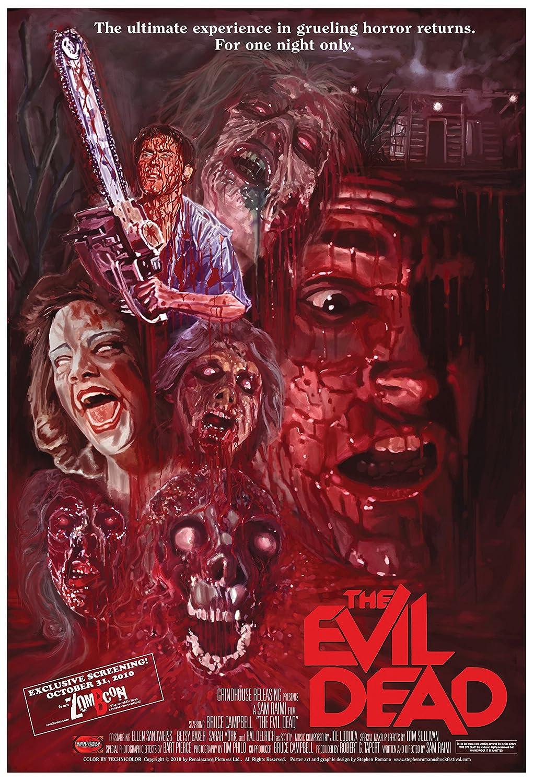 Movie Poster Evil Dead (1981) 24x36