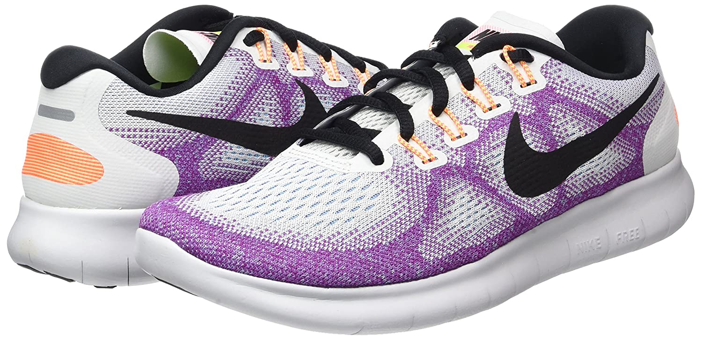 NIKE Women's Free RN 2017 Running Shoe B01K0NPTCA 6 B(M) US|Off White/Black-hot Punch
